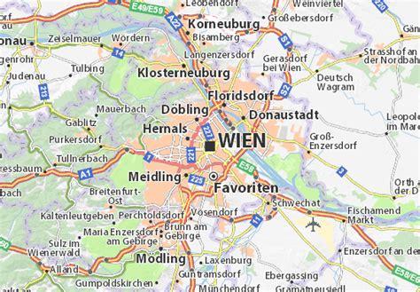 Mapa Viena - plano Viena - ViaMichelin