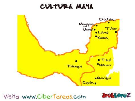 Mapa y Origen – Cultura Maya | CiberTareas
