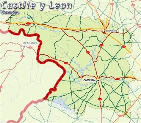 mapa zamora, mapa de zamora, zamora mapa, mapa provincia ...