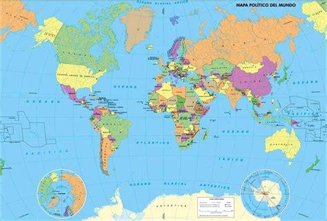 Mapamundi político   MapaMundi