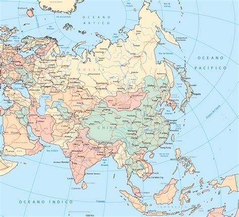 Mapas Asia: China, Malasia, India, Japón, Tailandia ...