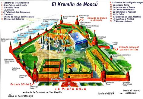 Mapas | Bienvenidos a Moscú Turístico. Excursiones y ...