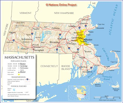 Mapas de Boston   EUA | MapasBlog