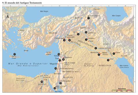 Mapas de la era Patriarcal - Sallomo