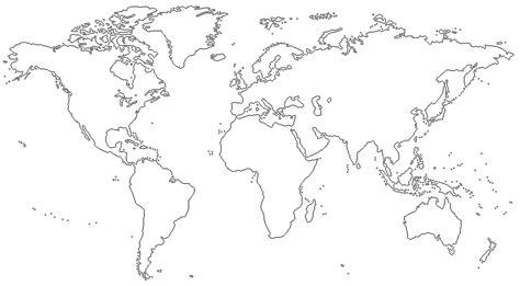 Mapas del mundo para colorear con nombres   Imagui