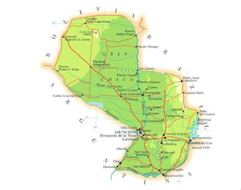 Mapas do Paraguai   MapasBlog