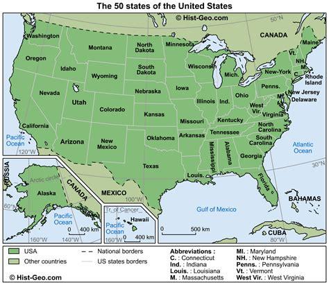 Mapas dos Estados Unidos da America | Roteiros e Dicas de ...