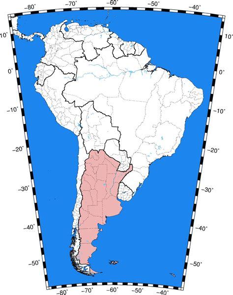 Mapas Geológicos: 1.4. Mapas Físico - Político. Sudamérica.