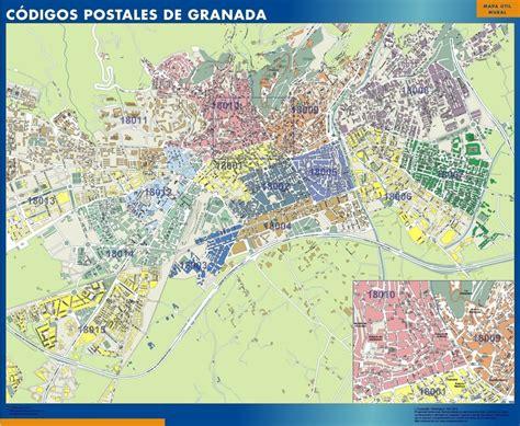 Mapas Granada | Mapas Murales España y el Mundo