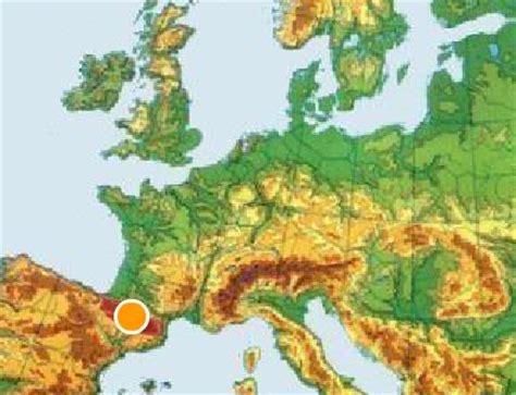 MAPAS INTERACTIVOS FÍSICOS DE EUROPA