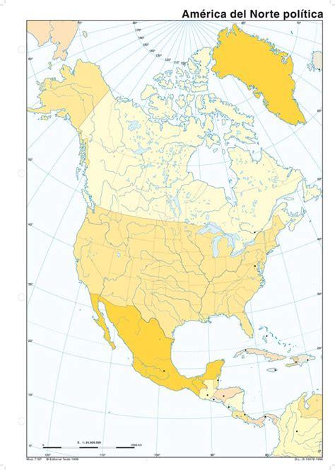 Mapas mudos África, América de Norte y América del Sur ...