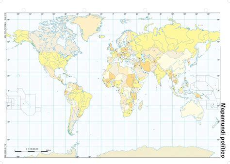 Mapas mudos Asia, Oceanía y Planisferio | GEOHISTORIAYMAS