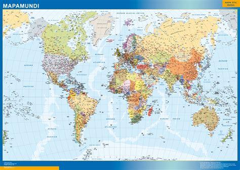 Mapas Murales España y el Mundo