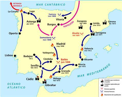 Mapas sobre el reinado de Carlos IV y la Guerra de la ...