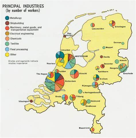 Mapas tematicos de Países Bajos