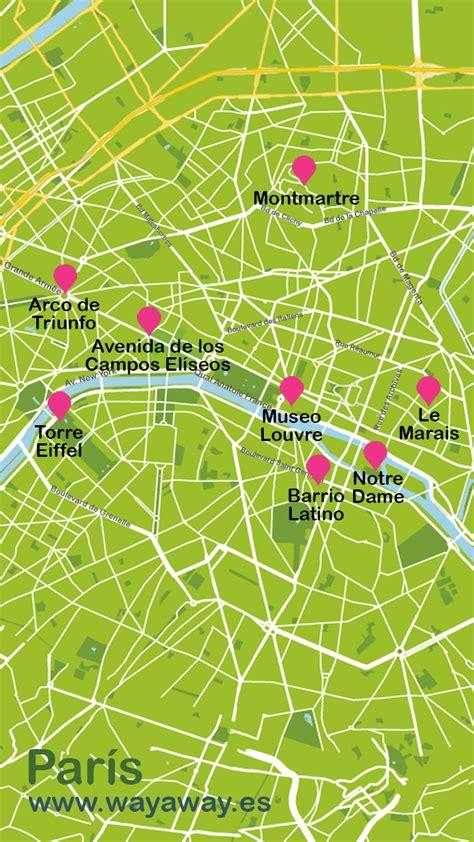 Mapas turísticos de Francia | Plano de Francia