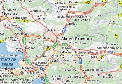 Mappa Aix-en-Provence - Cartina Aix-en-Provence ViaMichelin