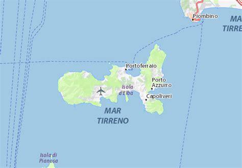 Mappa Isola d'Elba - Cartina Isola d'Elba ViaMichelin