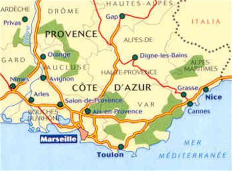 mappa stradale 528 - Francia - Provence/Provenza, Cote d ...