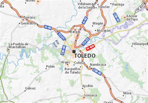 Mappa Toledo   Cartina Toledo ViaMichelin