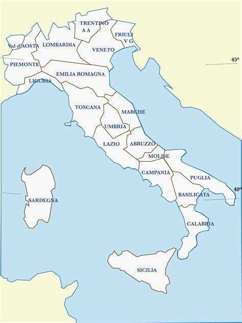 Mappe dell' ITALIA