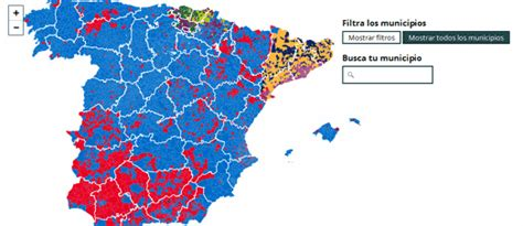 Maps Mania: The Spanish Election Map