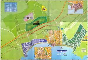 Maps of Benidorm tourist map - mapa.owje.com