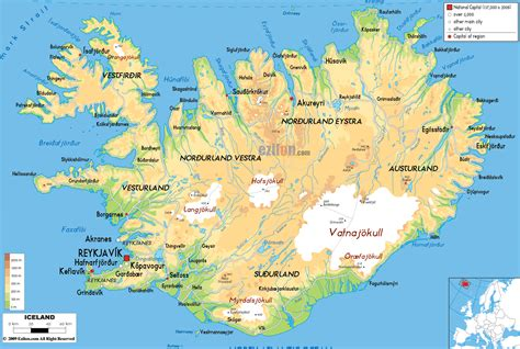 Maps of Iceland | Map Library | Maps of the World
