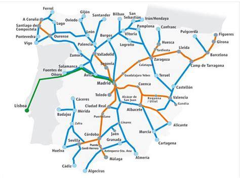 Maps Update #12001000: Train Travel In Spain Map – Spain ...