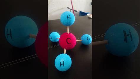 Maqueta de molécula orgánica - YouTube