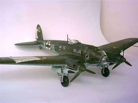 Maqueta He-111 de Hasegawa a escala 1/72