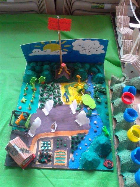 Maquetas con Material Reciclable | Ecología