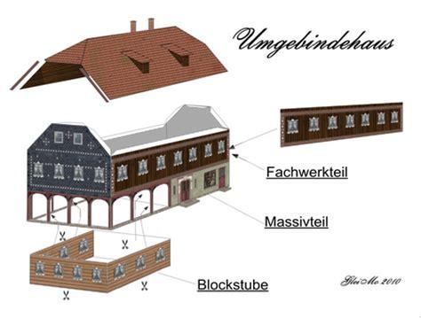 maquetas y dioramas de papel gratis : Casa Campestre de ...