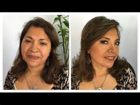 Maquillaje para los 40 años piel grasa - YouTube