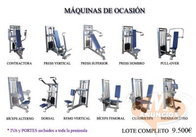 Máquinas de musculación nuevas de ocacion La Rioja 29583619