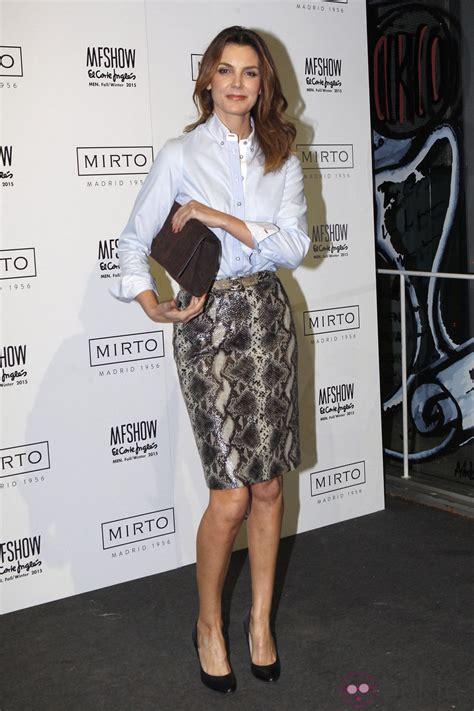 Mar Flores en la Madrid Fashion Show Men otoño/invierno ...