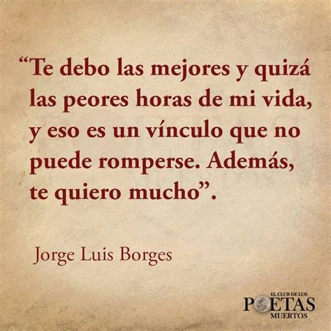 Maravillosas frases de Jorge Luis Borges en imágenes ...