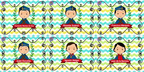 Maravillosos diseños de los niños héroes   Educación Primaria