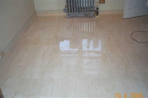 Marble Restoration Service. Marble Floor After. Image