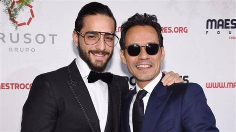 Marc Anthony kissed Maluma on the mouth at a gala in New York