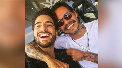 Marc Anthony y Maluma se dieron tremendo beso