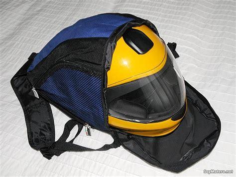 Marca Motor regala una mochila porta casco | Motos ...