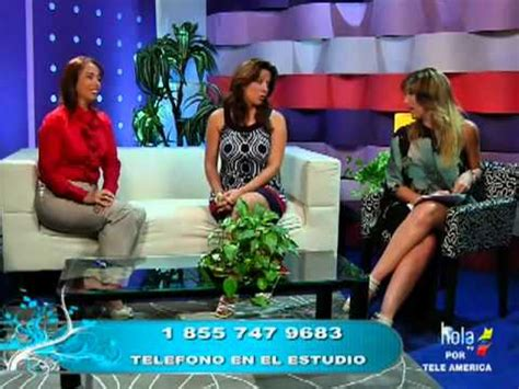 Marcela Gómez en America TV - Servicios Comunitarios   Doovi