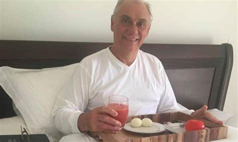 Marcelo Rezende posta primeira foto após internação ...