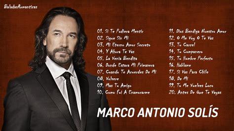 MARCO ANTONIO SOLIS EXITOS ROMANTICOS, Canciones ...