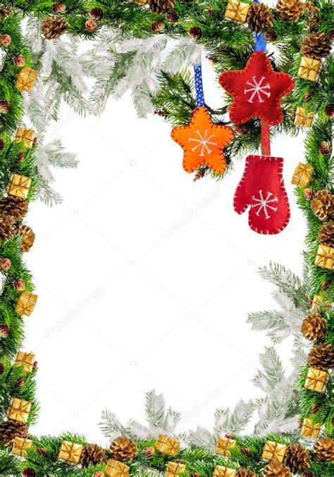 Marco con Acebo decoración de Navidad para tarjetas de ...