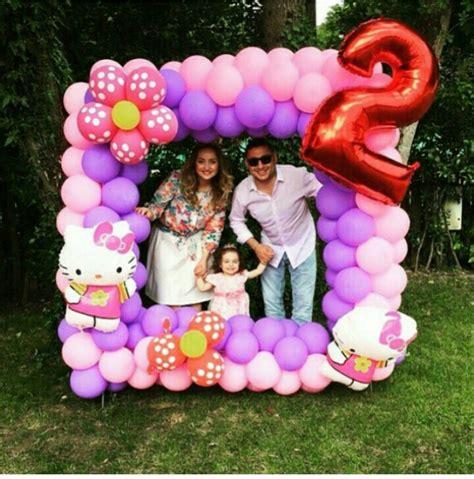 Marco con globos para fiestad infantiles | bodas ...