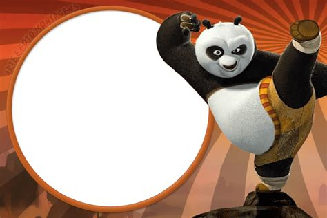 Marco de Foto Kung Fu Panda 6 | Descargar Marcos