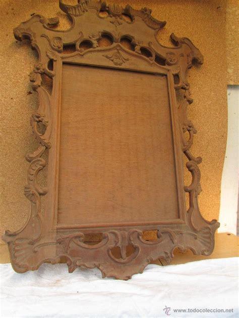marco para cuadro o espejo en madera de castaño   Comprar ...