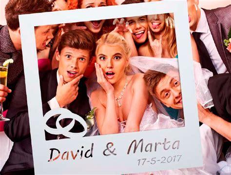 Marco Photocall Polaroid Personalizado > DETALLES DE BODA ...